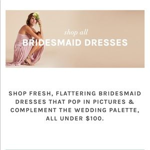 Bridesmaid dresses GIFT CARDS